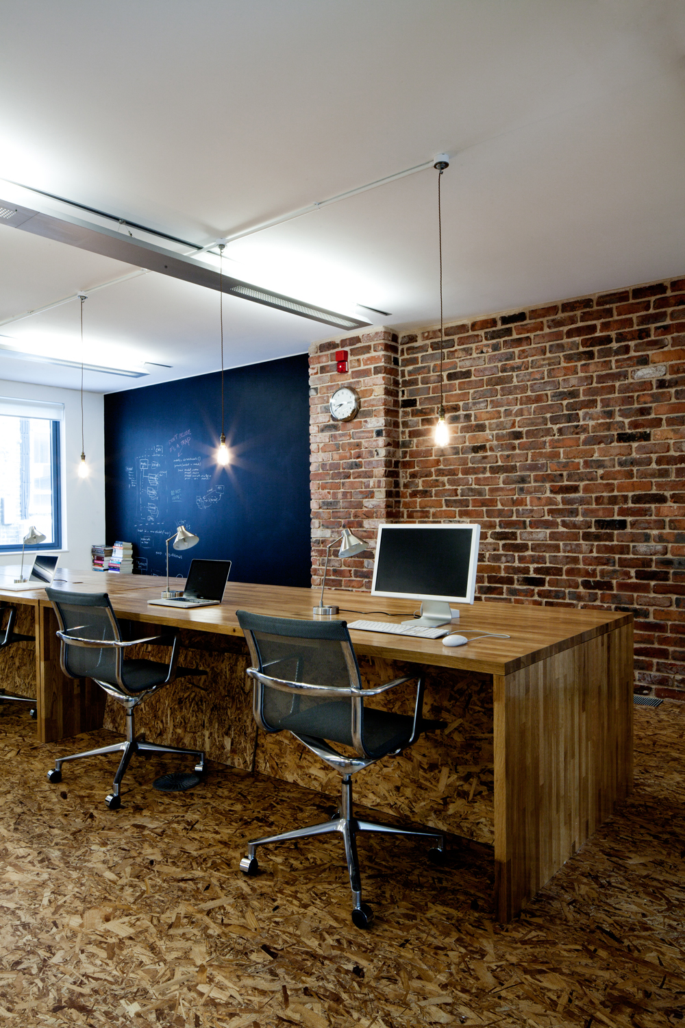 stylish workspace interior design