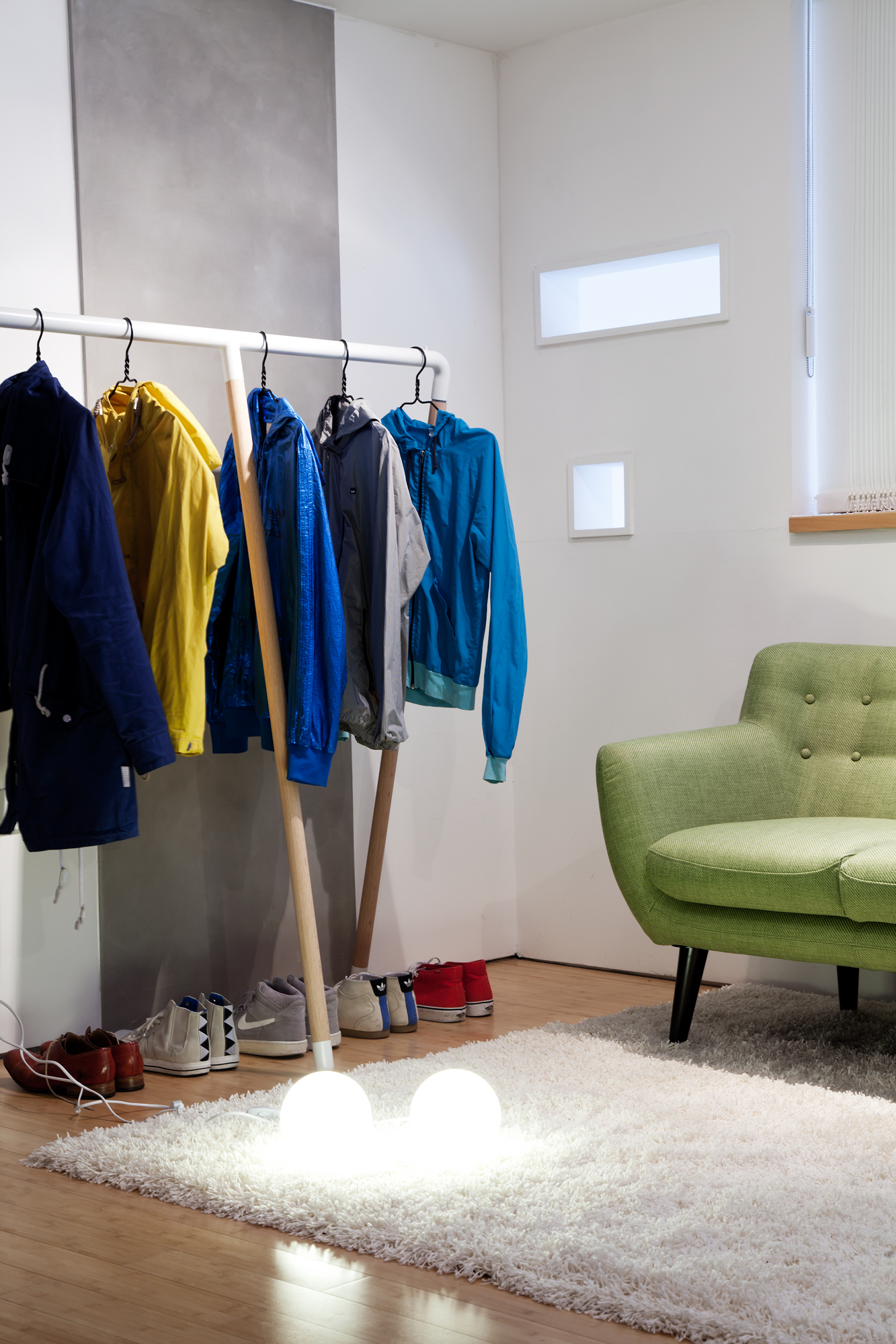 cool clothes rail