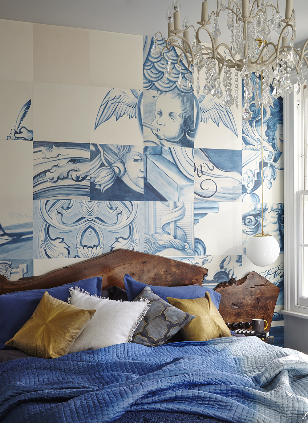 quirky stylish interior wallpaper design