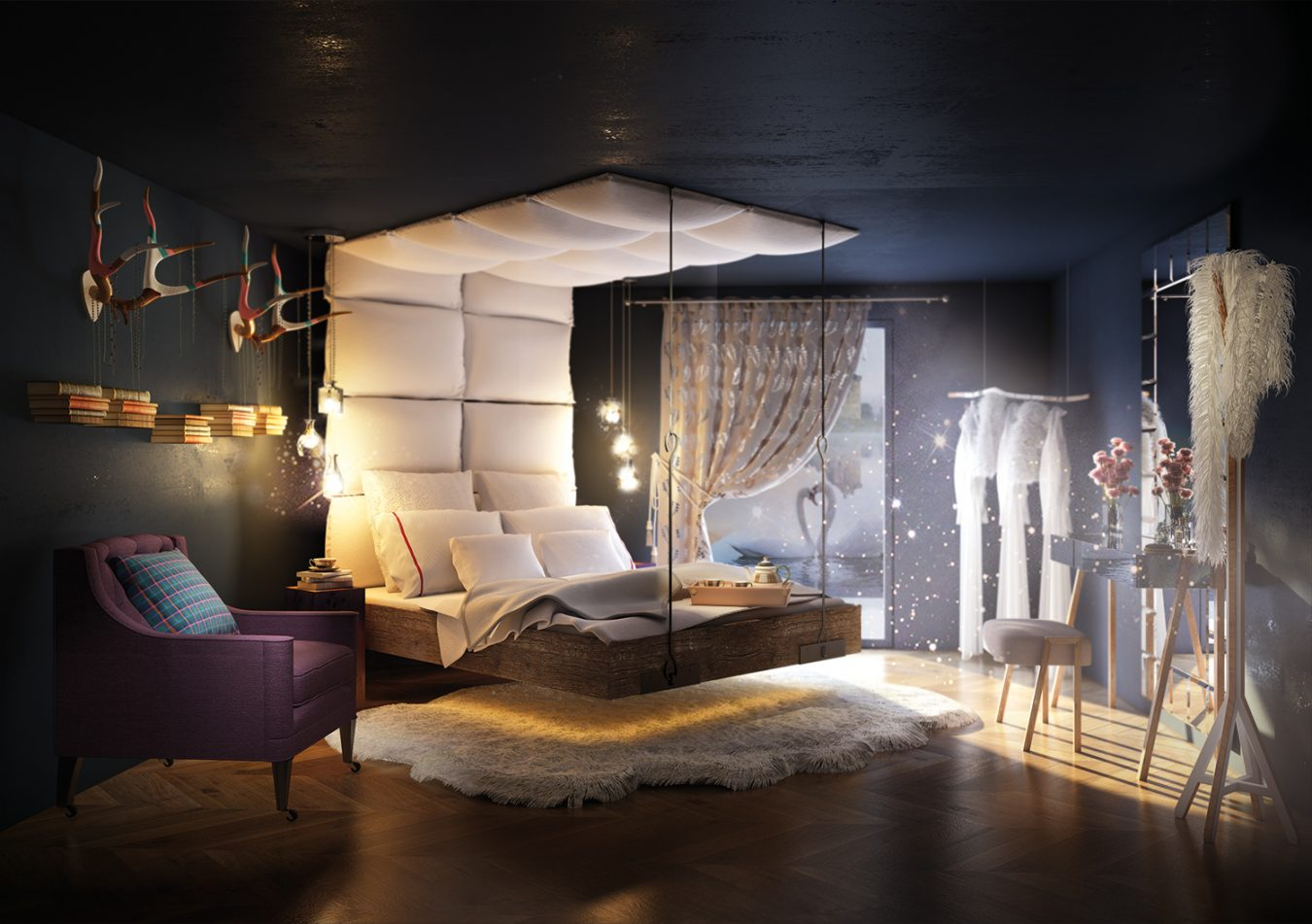 fantasy bedroom