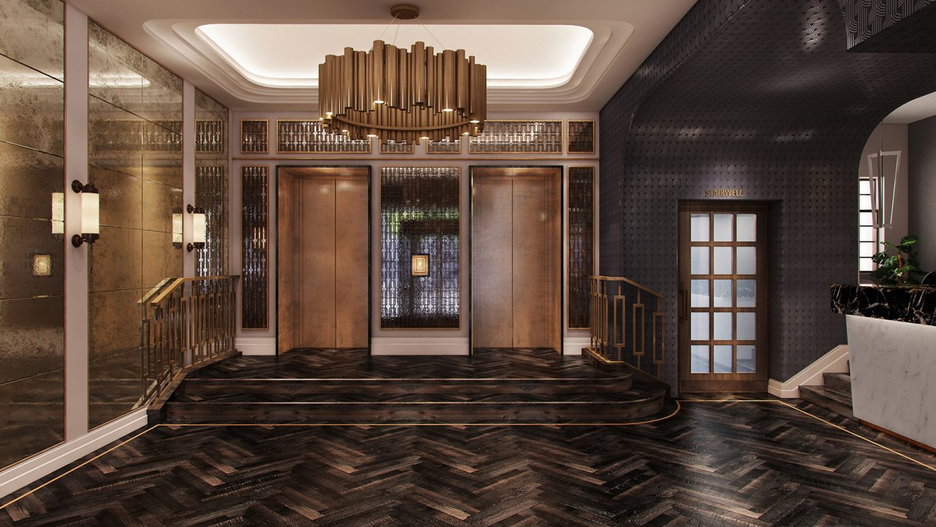 glamourous-lobby-design